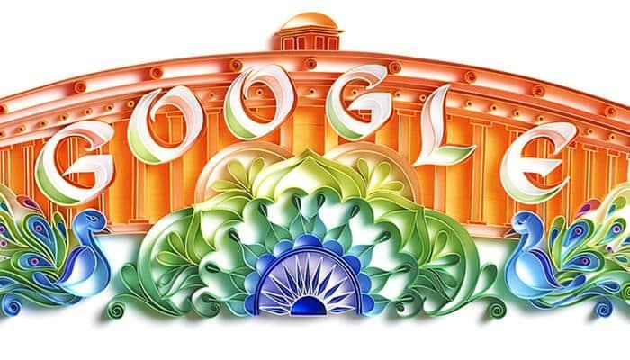 இந்தியாவின் சுதந்திர தினத்தை கொண்டாடுகிறது கூகுள்!!