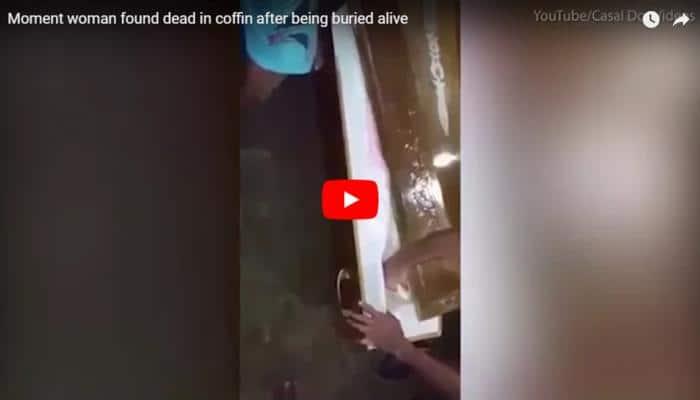 Video: சவப்பெட்டியினுள் 11 நாள் உயிருக்கு போராடிய பெண்!