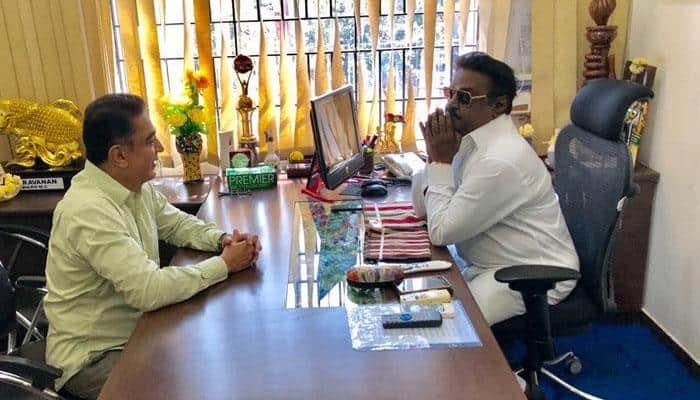 விஜயகாந்தை சந்தித்த கமல்ஹாசன்: அரசியல் பின்னணி என்ன?