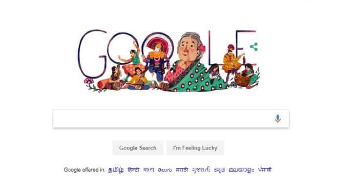 Google Doodle: இந்திய சமூக சீர்திருத்தவாதி Kamaladevi Chattopadhyay!