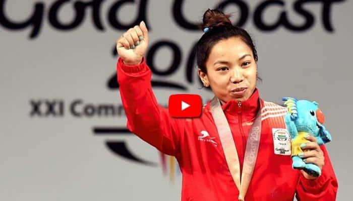 #CWG_2018: மீராபாய் தங்கம் வென்ற தருனங்களின் Video!