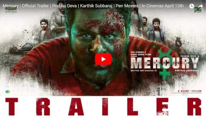 வெளியானது கார்த்திக் சுப்பராஜ்-ன் 'மெர்குரி' Trailer!