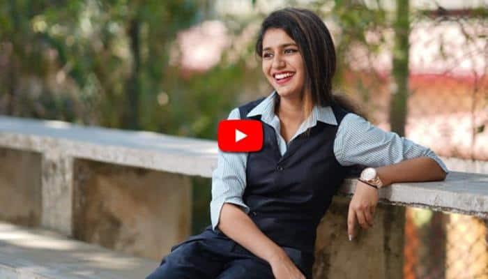 Video: புருவப்புயல் பிரியா வாரியருடன் போட்டி போடும் ரோஷன்!