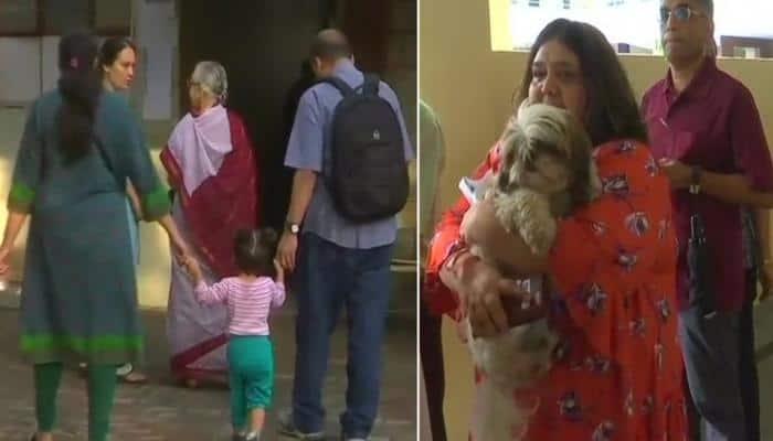 கர்நாடகா தேர்தல் 2018: தொடங்கியது வாக்குபதிவு - படங்களை பார்க்க