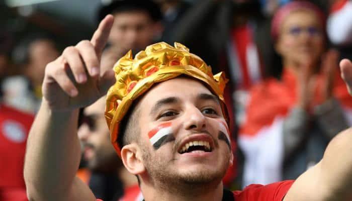 FIFA 2018: எகிப்து vs உருகுவே போட்டியின் புகைப்படங்கள்!
