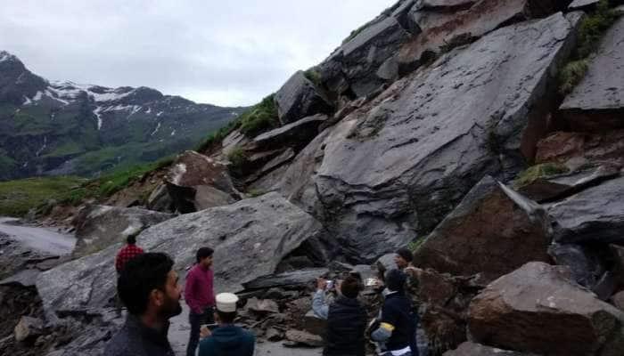 Himachal Pradesh: Manali-Leh நெடுஞ்சாலையில் நிலச்சரிவு! போக்குவரத்து துண்டிப்பு!