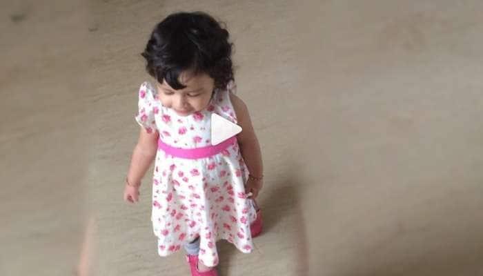 HappyBirthdayMSDhoni: சர்ப்ரைஸ் கொடுத்த தோனி மகள் ஸிவா!