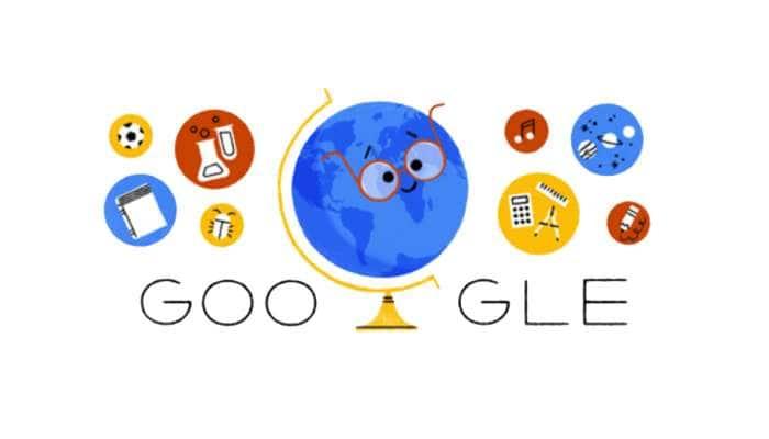 ஆசிரியர் தினத்தை கௌரவித்த Google Doodle