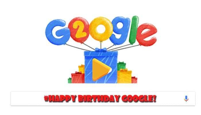 டீன் ஏஜ்ஜை கடந்து 20-வது வயதில் காலடி எடுத்து வைத்த Google...!