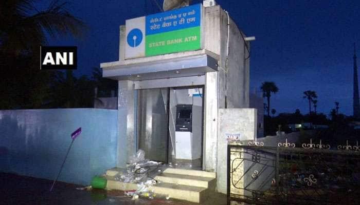 ராமேஸ்வரத்தில் ATM-ஐ உடைத்து கொள்ளை முயற்சி!