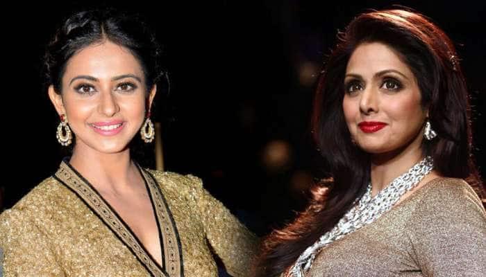 மறைந்த நடிகை ஸ்ரீதேவி கதாப்பாத்திரத்தில் ராகுல் ப்ரீத்!