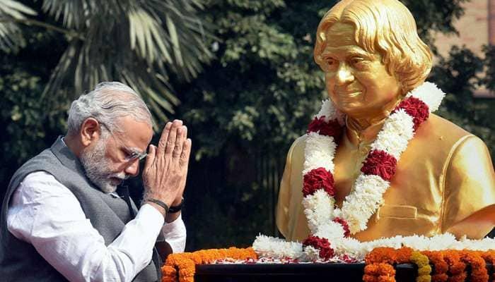 இந்தியர் நினைவில் நீங்கா இடம் பிடித்தவர் கலாம் - மோடி!