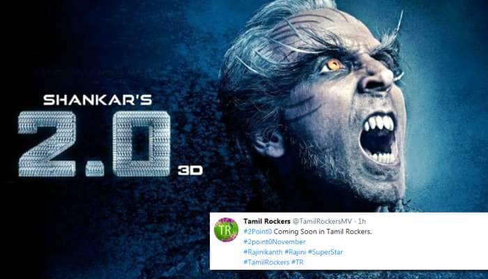 சர்காரை தொடர்ந்து 2.0-வும் இணையத்தில் வெளியாகும் -tamilRockers!