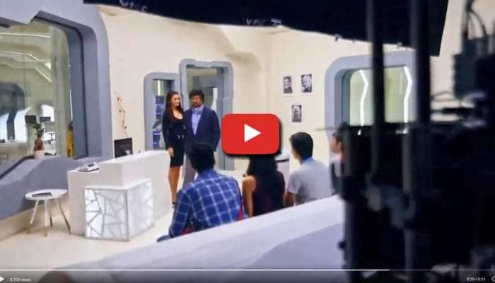 Watch: இணையத்தில் லீக்கான எமி - ரஜினியின் '2.0' என்ட்ரி வீடியோ...