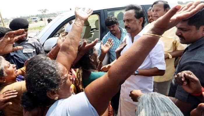 கஜா மீட்பு பணி; அரசு விரைந்து செயலாற்ற வேண்டும் - திமுக!