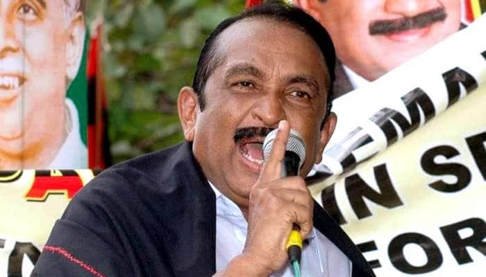நளினி உள்ளிட்ட 7 பேர் விடுதலை: வைகோ தலைமையில் ஆர்ப்பாட்டம்!