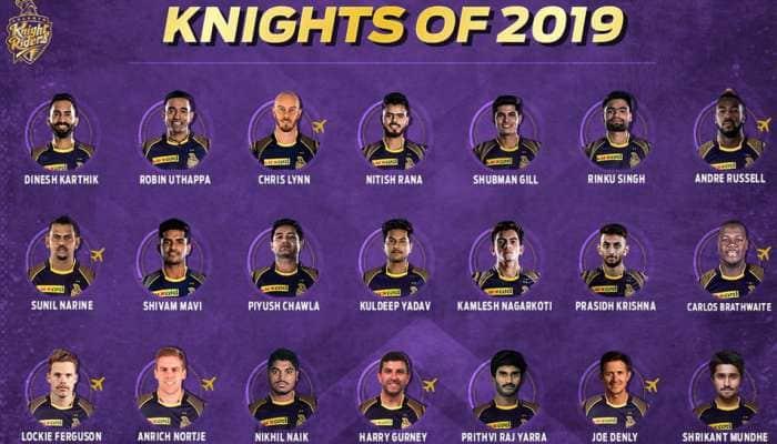 ஐபிஎல் 2019: கொல்கத்தா நைட் ரைடர்ஸ் அணியில் இடம் பெற்ற வீரர்கள் விவரம்?