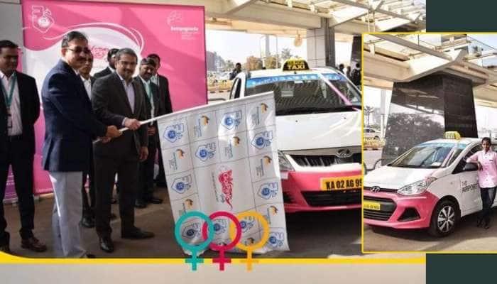 பெங்களூருவில் பெண்களுக்காக பெண்களே இயக்கும் Pink Taxi!
