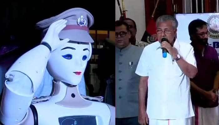 WOW...! இந்தியாவின் முதல் மனித போலீஸ் ரோபோ!!