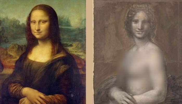 'மோனா லிசா'-வின் நிர்வாண ஓவியத்தை வரைந்தாரா Da Vinci?