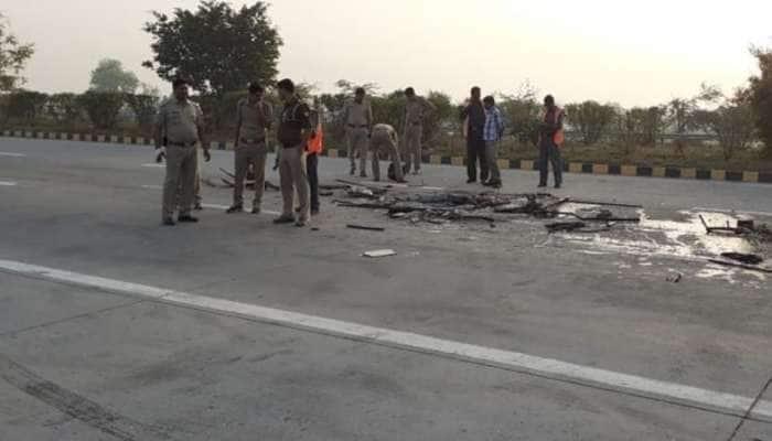 உ.பி.யில் லாரி மீது பேருந்து மோதி விபத்து: 8 பேர் பலி
