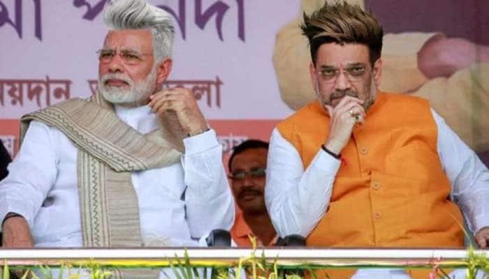 இணையத்தை கலக்கும் புதிய சிகை அலங்காரத்துடன் ஃப்ரீக் ஆனா BJP தலைவர்கள்...