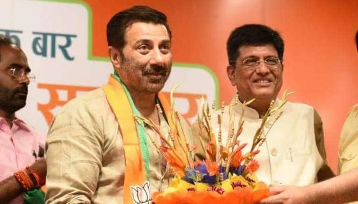 குர்தாஸ்பூர் மக்களவை தொகுதியில் சன்னி தியோல் வேட்பு மனு தாக்கல்!!
