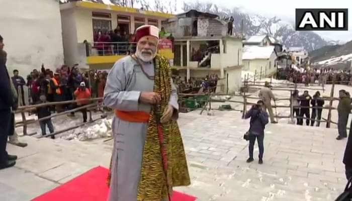 உத்தரகாண்ட் கேதார்நாத் கோவிலில் பிரதமர் மோடி வழிபாடு!!