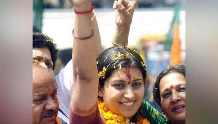 முடியாதென்று எதுவும் கிடையாது!! ராகுல் காந்தியை வீழ்த்திய ஸ்மிருதி இரானி