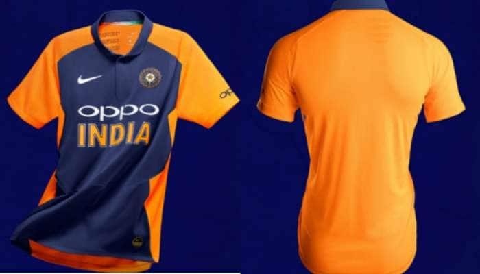 இங்கிலாந்துக்கு எதிரான போட்டியில் காவி நிறத்தில் களமிறங்கும் இந்தியா!