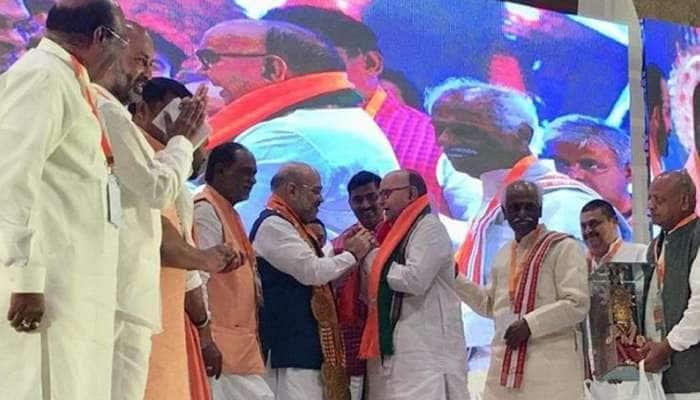 அமித்ஷா முன்னிலையில் BJP-ல் இணைந்த ஆந்திர முன்னாள் முதல்வர்!