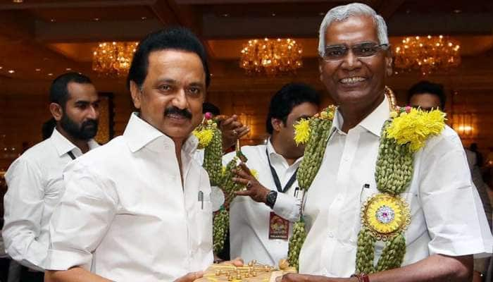 CPI தேசிய பொதுச் செயலாளராக தேர்வான ராஜா-வுக்கு MKS வாழ்த்து!