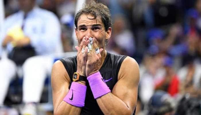 US Open: மெத்வதேவ் வீழ்த்தி சாம்பியன் பட்டம் வென்றார் நடால்!