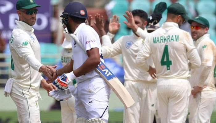 IND vs SA: 502 ரன்களுக்கு டிக்ளர் செய்த இந்திய அணி; தென்னாப்பிரிக்கா பேட்டிங்