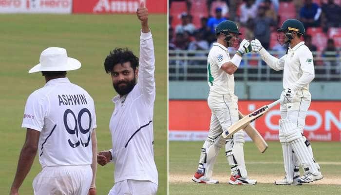 IND vs SA Day 3: தென்னாப்பிரிக்கா 385/8 ரன்கள்; இந்தியா 117 ரன்கள் முன்னிலை