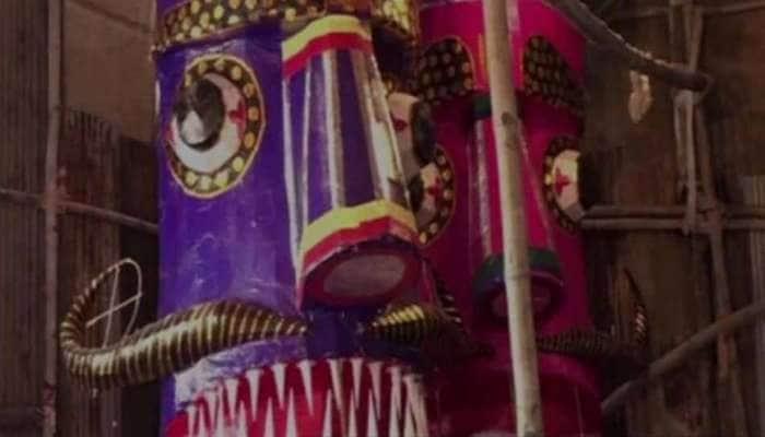 தசரா உருவ பொம்மைகளை பரம்பரையாக உருவாக்கும் முஸ்லீம் ஆண்!