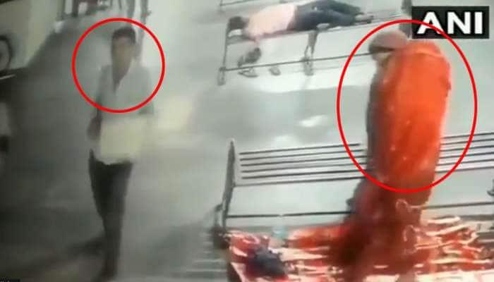பேருந்து நிலையத்தில் 8 மாத குழந்தை திருட்டு; CCTV-ல் காட்சி பதிவு: வீடியோ