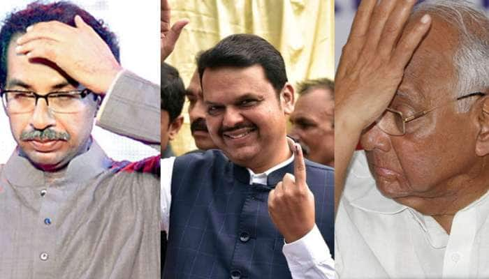 பாஜகவின் 'B' திட்டம் ரெடி; NCP - Shiv Sena உதவி இல்லாமல் MH-ல் ஆட்சி