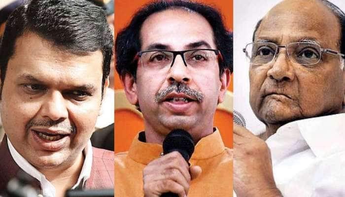 அரசியல் ஆட்டம்!! மகாராஷ்டிராவில் Shiv Sena-NCP-Congress ஆட்சி; BJP எதிர்க்கட்சி