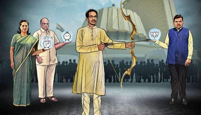 NCP தலைவர் சரத் பவார் வீட்டில் பாஜக MP; காரணம் என்ன?