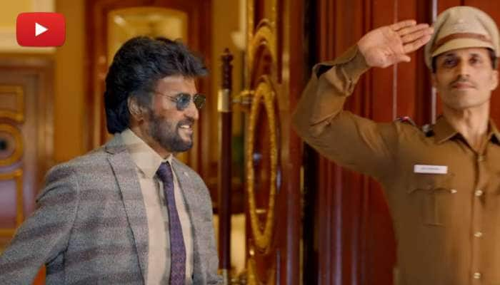 """தனக்கு உண்டான மாஸ் ஸ்டைல்..!! வெளியானது """"தர்பார்"""" திரைப்படத்தின் ட்ரைலர்"""