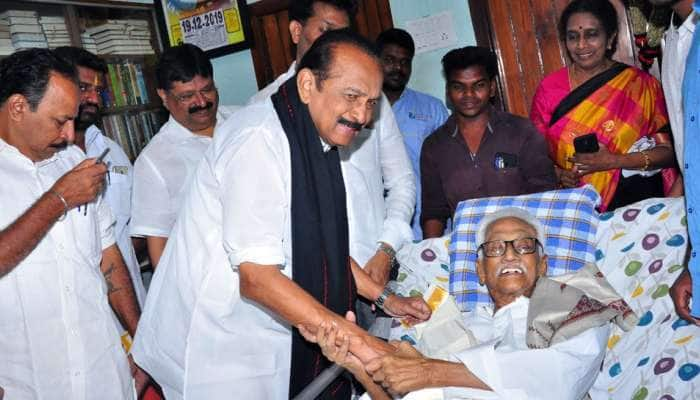 DMK பொதுச்செயலாளருக்கு பிறந்தநாள் வாழ்த்து தெரிவித்த வைகோ...