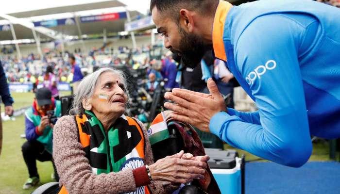 இந்திய கிரிக்கெட் அணியின் ரசிகை சாருலதா பாட்டி காலமானார்!