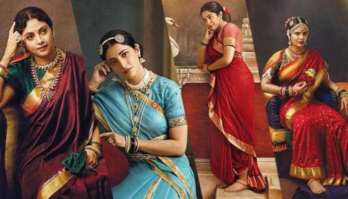 Viral Pic: ரவிவர்மாவின் ஓவியங்களாய் மாறிய பிரபல நடிகைகள்..!