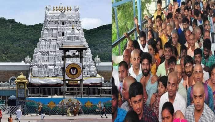 கொரோனா தாண்டவம்: 120 ஆண்டுகளுக்கு பிறகு திருப்பதி கோவில் மூடப்பட்டது!