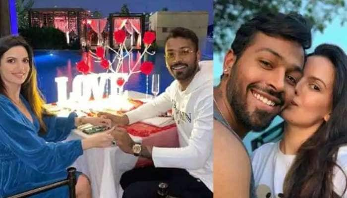 ஹார்டிக் பாண்ட்யா & நடாசா ஸ்டான்கோவிக்-ன் அட்டகாசமான புகைப்படம்!!
