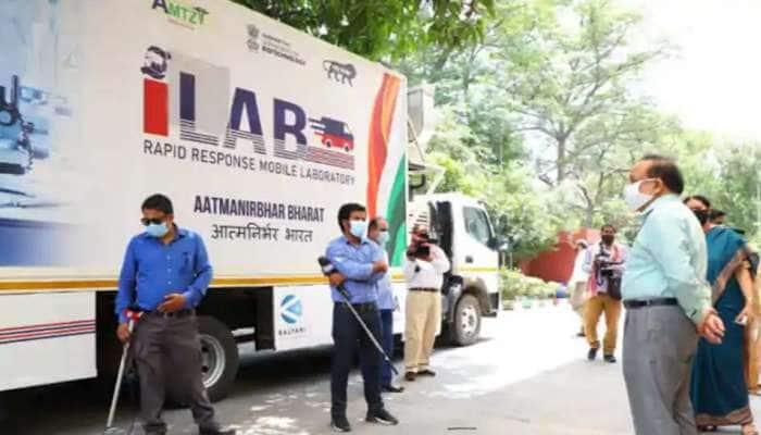 COVID-19 சோதனைக்கான இந்தியாவின் முதல் மொபைல் I-LAB அறிமுகம்..!