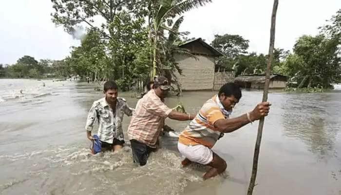 அஸ்ஸாமில் 22 மாவட்டங்களில் வெள்ளம்... 16 இலட்சத்திற்கும் அதிகமானோர் பாதிப்பு..!!!