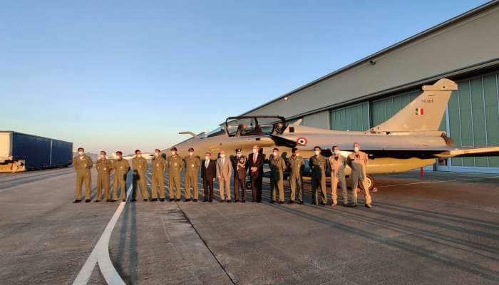 Rafale போர் விமானத்தின் இரவு நேர பயிற்சி... எல்லையில் தீவிர எச்சரிக்கை நிலை..!!!