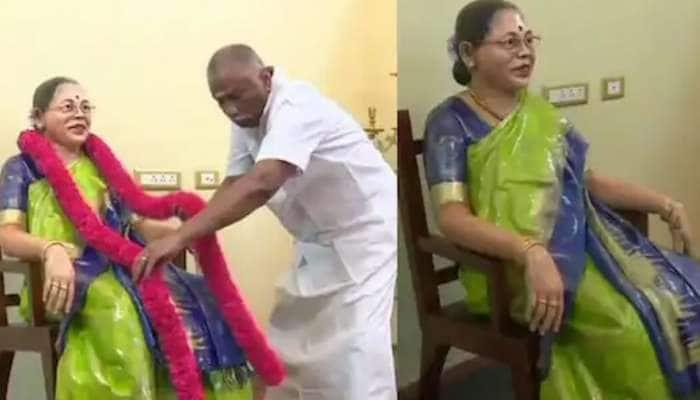 மரணம் பிரித்த மனைவியை சிலையாய் மீட்ட கணவர்: காதல் பிரியாதது!!
